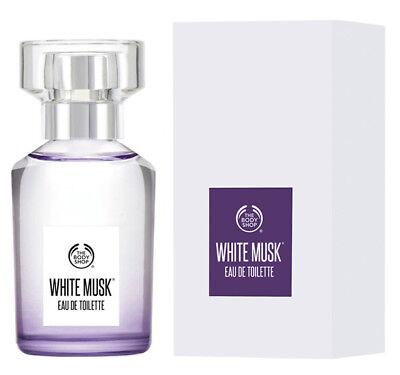 New ❤️ The Body Shop White Musk Eau De Toilette 1fl.oz/30ml | FREE SHIPPING (Adults Shop)