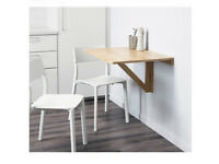 Ikea Wall-mounted drop-leaf table NORBO
