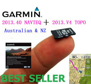 2013.40 NAVTEQ+ 2013.V4 TOPO Australia&NZ Map for Garmin GPS- all in one SD card