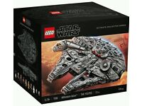 LEGO 75192 Millenium Falcon UCS - Star Wars - RARE AND SOLD OUT - NEW AND SEALED