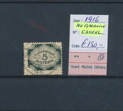 LL96716 Germany 1916 Bayern service stamps fine lot used cv 150 EUR