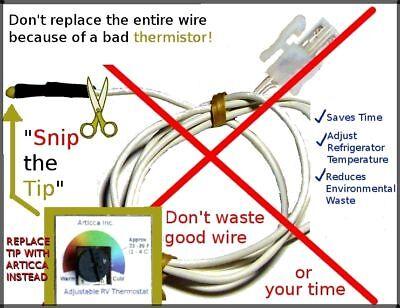 Dometic Thermistor 2931863035 Repair RM2612/52/2812/52