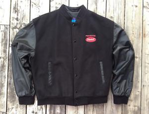Neuf!!! Manteau Peterbilt XL - cuir + laine