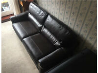 Sofa Bed - Leather
