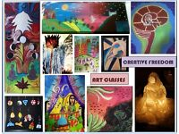 Art classes - all ages - groups and individuals