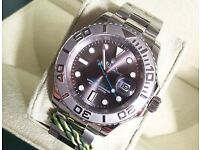 Rolex yachtmaster £300 or £350 with box and papers