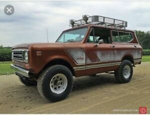 Wanted! International scout 4x4