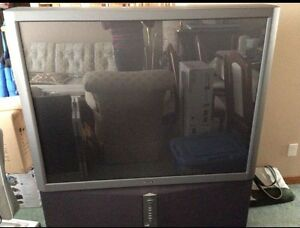 "Free 49"" Sony Rear Projection TV"