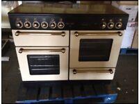 Rangemaster 110 Cream electric Oven Cooker
