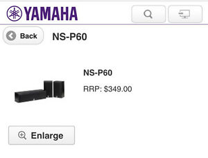 Yamaha NS-P60 Surround Sound Speakers New in the Box East Fremantle Fremantle Area Preview