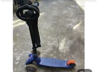 Micro Scooter Blue
