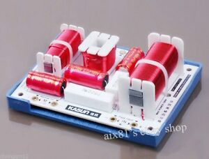 180W HiFi 4 Way Crossover Filters For 4 Speaker System Audio Frequency Divider