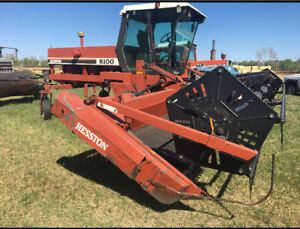 For Sale Hesston 8100 Swather, in excellent condition