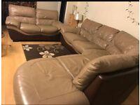 DFS Corner Sofa + 2 seater matching sofa