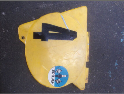 Yamaha YZ125C '76 L/H Side Cover