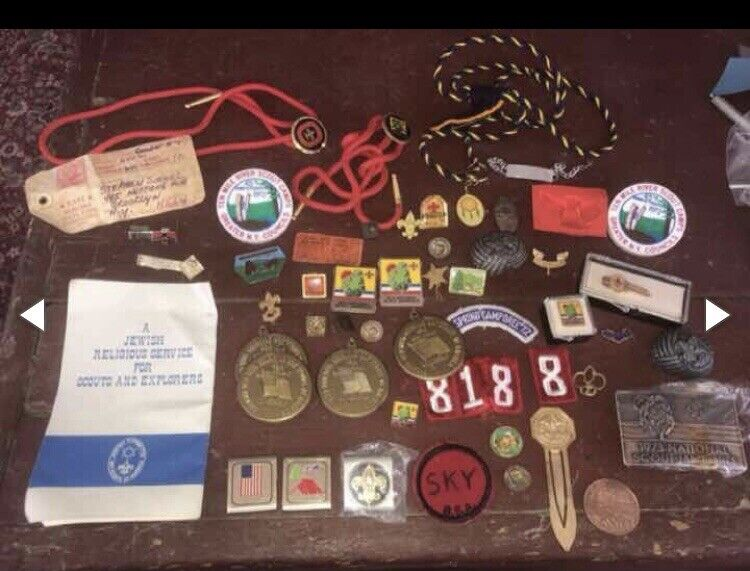 VTG Boy Scouts Collectible Lot CollectorsResellers