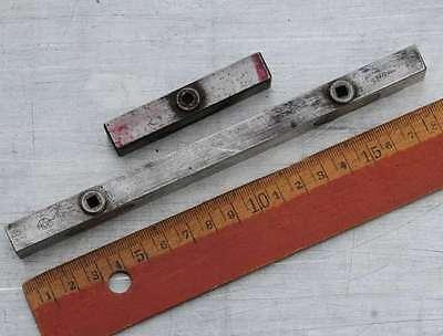 2x Schließzeug Drucker Bleisatz Handsatz Schließzeuge letterpress quoins quoin