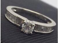 Stunning Diamond Ring - As New - Valuation Inc