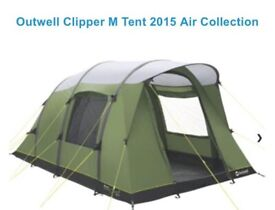 Tent - Outwell Clipper M 2015 air