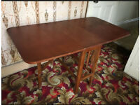 Large Vintage Fold Away Table