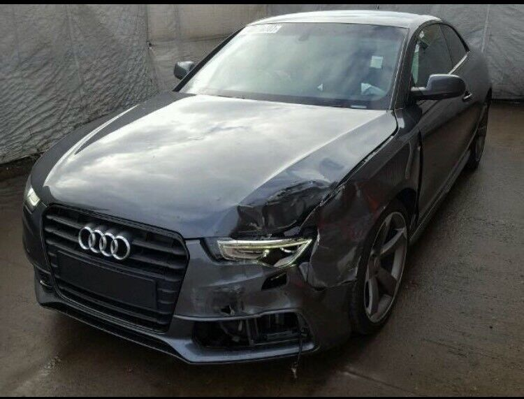 Audi a5 2014 cat d damaged salvage repairable