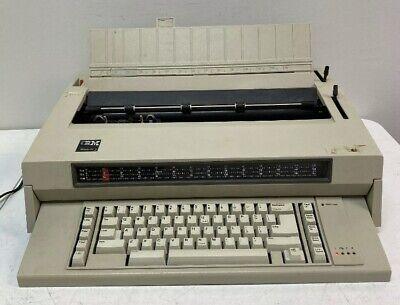 Vintage Ibm Wheelwriter 3 Beige Office Electric Typewriter Tested And Working