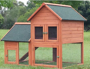 Chicken coop with free weather proof cover Helensvale Gold Coast North Preview
