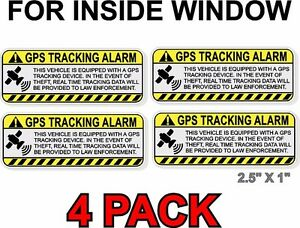 5 x Motorcycle Camera Recording-Red on White-Security Stickers-Small-87mmx30mm-CCTV  Signs-Motorbike