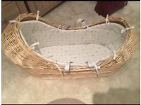 Peter rabbit moses basket mothercare