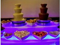Riches Entertainments | Twin Chocolate Fountain Hire | from £250.00