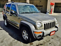 2003 Jeep Liberty 4x4 Safety & E-tested