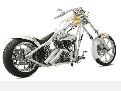 Meridian Chrome Wheel Set Revtech Performance Machine 19 x 3 * 18 x 5.5 Harley