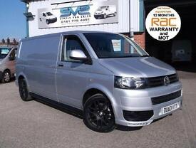 VW TRANSPORTER T32 SPORTLINE SPEC LWB 140BHP, 6 SPEED, AIR CON, IDEAL CAMPER VAN