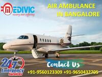 Choose Quick Medivic Air Ambulance from Bangalore with Emergency