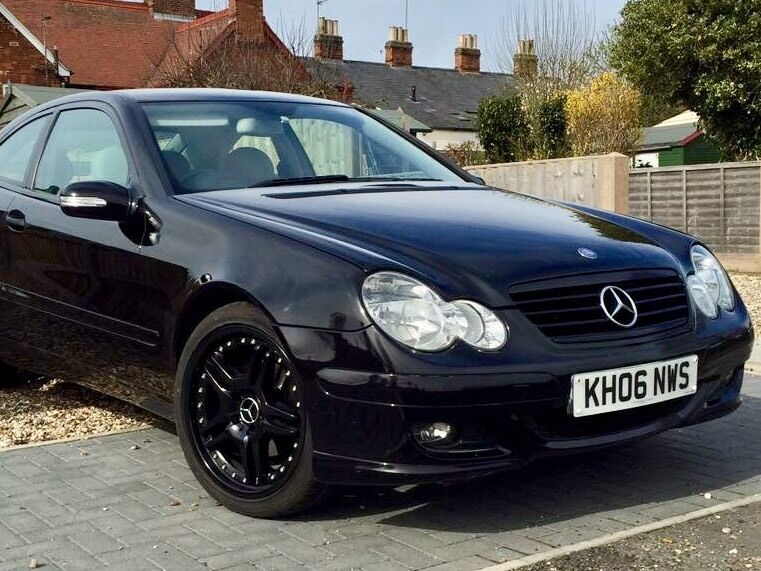 Mercedes c class coupe c180 kompressor 2006 high spec facelift in long melford suffolk gumtree - Mercedes c class kompressor coupe ...