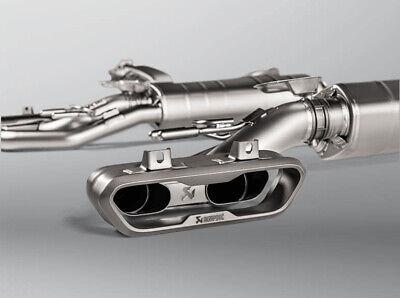 Acrapovic Exhaust Sportauspuff Komplettanlage Mercedes G500 G63 AMG links rechts