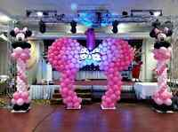 Rasonal prices in decoration with balloons