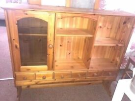 Solid wood dresser top, 120 x 100 x 26 cm, very good condition