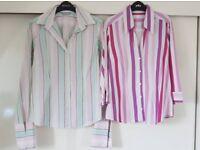 2 x women's shirts/blouses size 12