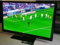 "LG 50"" TV FULL HD BUILT IN FREEVIEW EXCELLENT CONDITION WITH REMOTE CONTROL HDMI FULLY WORKING"