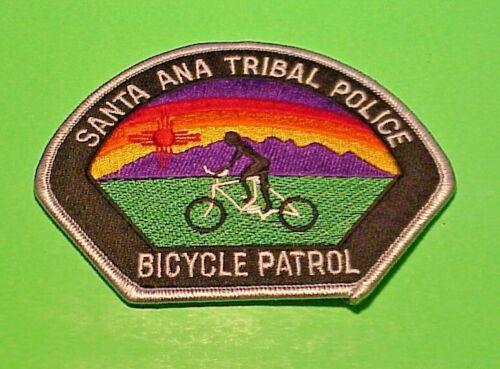 "SANTA ANA NM BICYCLE PATROL TRIBAL 3 1/2 x 4 1/2"" POLICE PATCH  FREE SHIPPING!!!"
