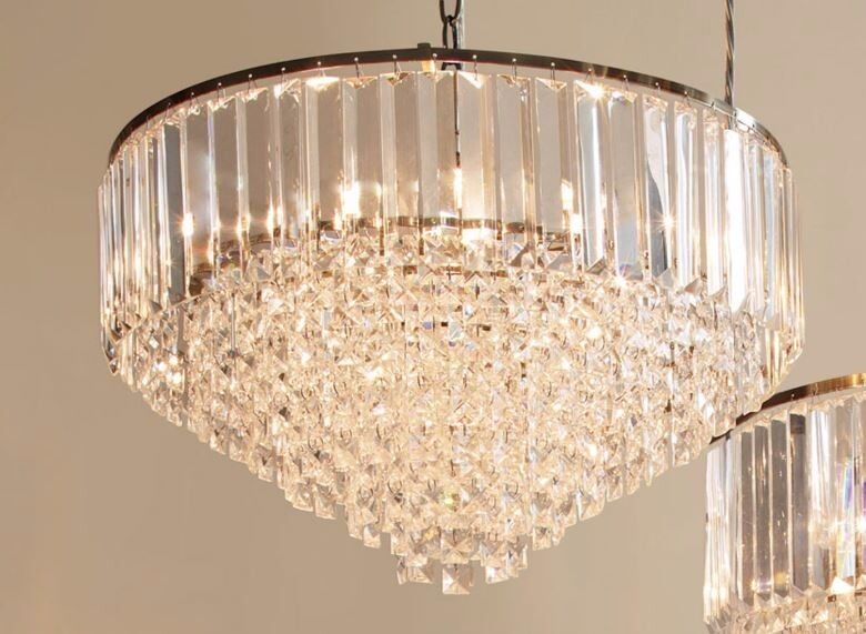 Laura Ashley Vienna Glass And Antique Brass Ceiling Light In Sidcup London Gumtree