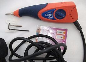 Vitrex VITGO200VT Grout Removal Tool 230V GROUT OUT