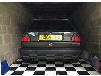 Oak Green VW 16v GTI 1990