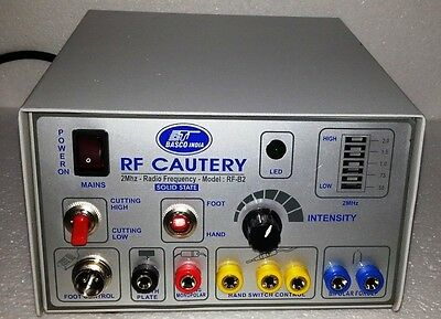 New Advanced Electro Surgical Generator Surgical Cautery-2 Mhz-frequency Unit