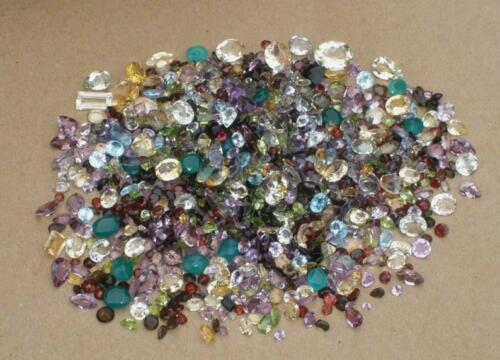 OVER 1000 CARATS OF LOOSE FACETED NATURAL GEMSTONES