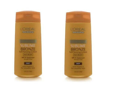 L'Oreal Sublime Bronze Self-tanning Lotion Spf 15 - Face/...