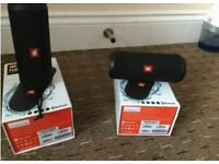 2 JBL Flip 3 bluetooth spkr damaged