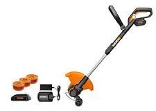 "WG175.1 WORX 32V Max Lithium 12"" Grass Trimmer/Edger/Mini Mower + 2 Batteries"