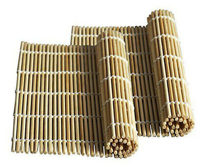 Bamboo Roll Sushi (JapanBargain 1573X2, Sushi Roll Bamboo Mat, Set of 2 )